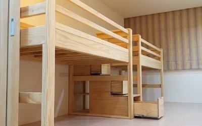 高架床系列➣空間與孩子的成長寢具