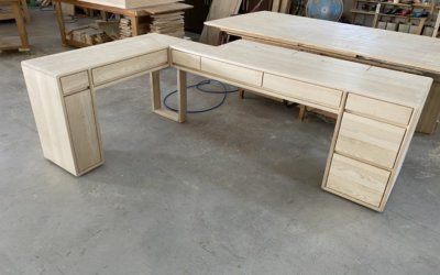 客製化系列 ( I ) ➣北美白蠟木桌款☀